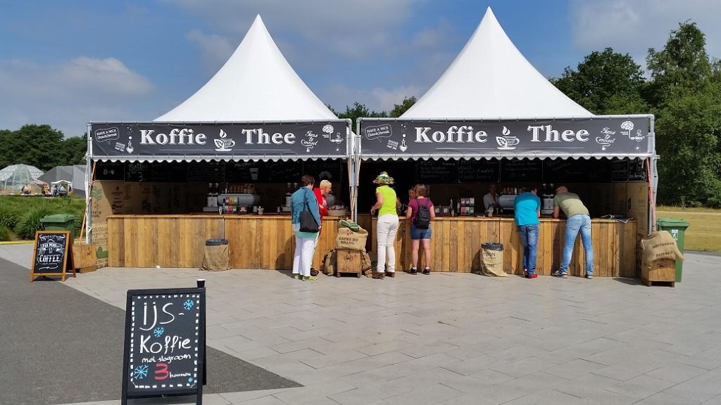 Koffie op festivals, Koffiebeleving op festivals