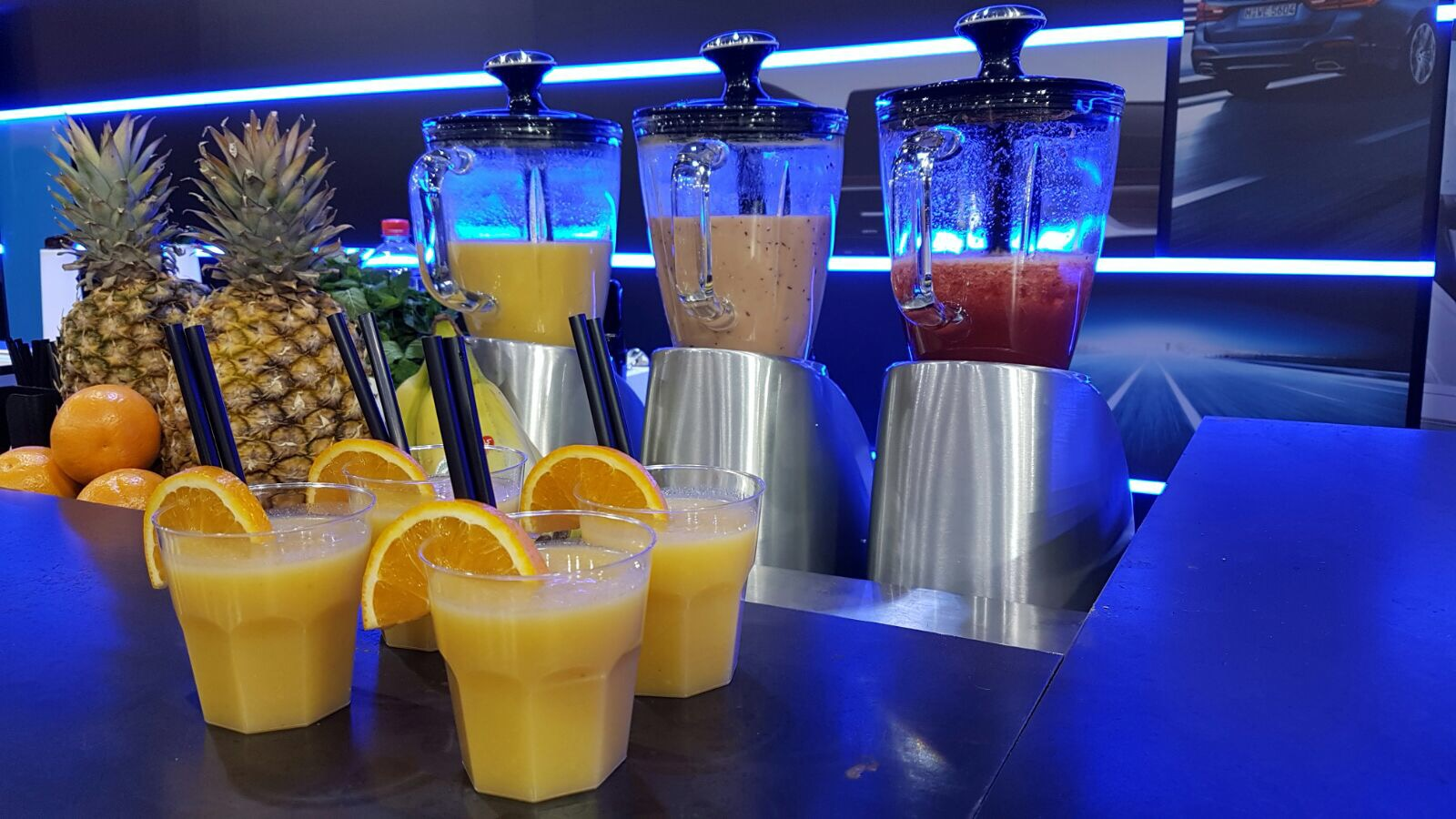 smoothie bar, Smoothie bar