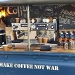 , Onze stoere RAW coffee truck on tour voor provincie Noord Holland: