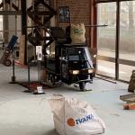 , Barista Company bij nieuwbouw MBO college Utrecht, namens Dura Vermeer: